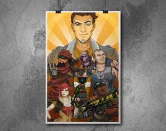 Borderlands poster/print