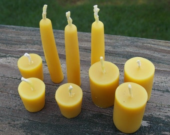 Mix-n-Match BJD Candle Props - Beeswax