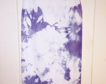 Acid Wash Pencil Skirt