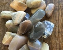 Black Moonstone Crystal Healing Stone Good Fortune Intuition Love Hormones Pineal Glands Wicca Reiki Chakra Womens Stone Zen Got Rockz