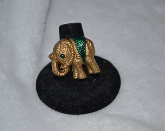 Gold Elephant Ring