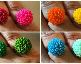 Mum Resin Ring (15MM)