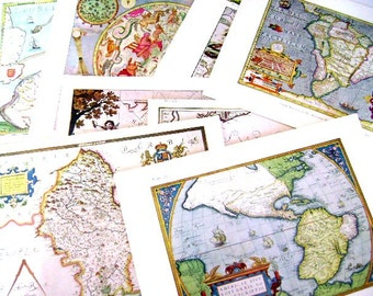 "REDUCED Vintage Atlas - Detailed Chart of the North Sea in ""De Zee-atlas""  of Pieter Goos, Maps"