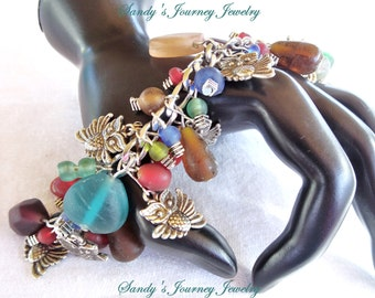 how to make lovely charm bracelet wow