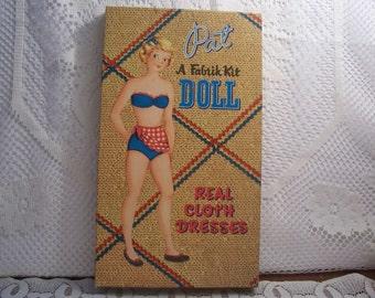 """Whitman """"Pat"""" Paper Doll"""