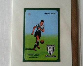 Original 1950s 'Goal' card Grimsby Town