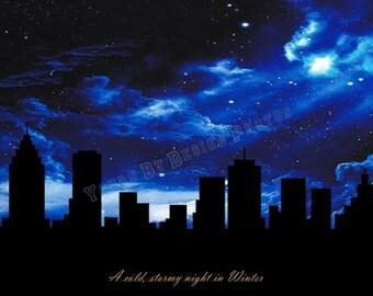 City Skyline - Winter