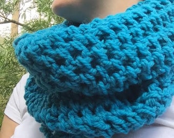 Extra Long Rich Teal Scarf