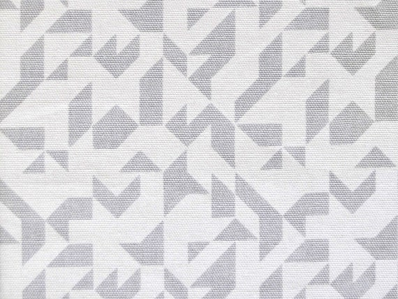 Contemporary fabric minimalist grey geometric by oomfinteriors for Material minimalism