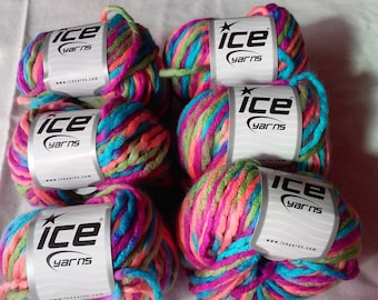Ice Yarns Candy Multicolor Yarn