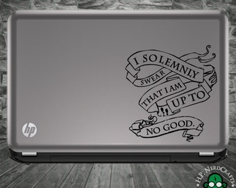 """V1 """"I Solemnly Swear"""" Decal"""