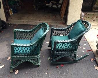 75 year old wicker chairs always kept inside