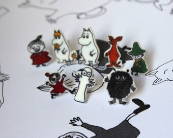 The Moomins Earring Set