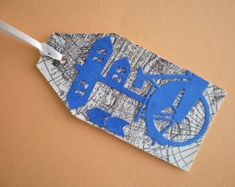 Gift tags, bookmarks bicycle tour
