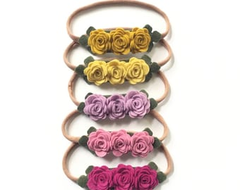 Rosie Bunch Headband - One Size Fits All Headband