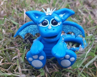 Dragon, Figure, Polymer Clay, Wings, Fimo, Fantasy
