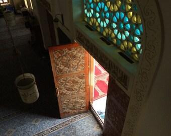Light Through Mosque Door