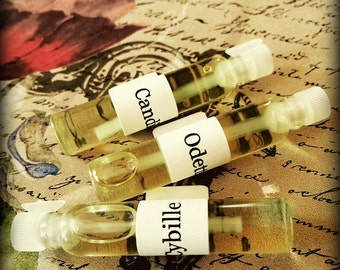 3 PERFUME SAMPLES 2ml each - Choose Your Scents - Vegan, Perfume Testers, Perfume Vials, Perfume Gift, Perfume Set