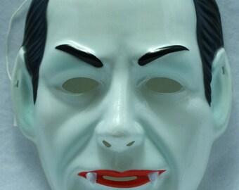 Dracula Vintage Halloween Mask Rubies 1991 Universal Monsters Classic Vampire Y0