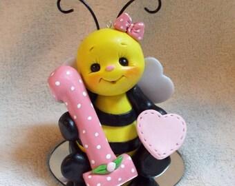 Bumblebee Cake Topper Keepsake