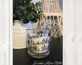 Twinkle Twinkle Little Star Candle