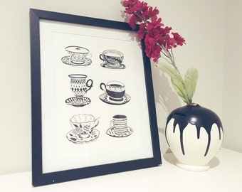 Teacup collection A4