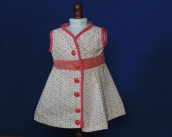 "18"" Doll wrap-around dress"