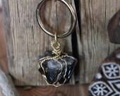 Into the Deep Morion Quartz Necklace