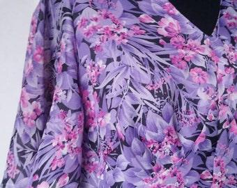 Vintage floral 70s maxidress maxi dress