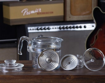 how to use pyrex percolator