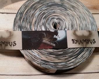 Krampus Grosgrain ribbon, Horror ribbon