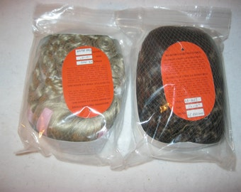 Vintage Doll Wig, LaSioux Doll Wig, Size 12-13 inch, Set of 2 NOS