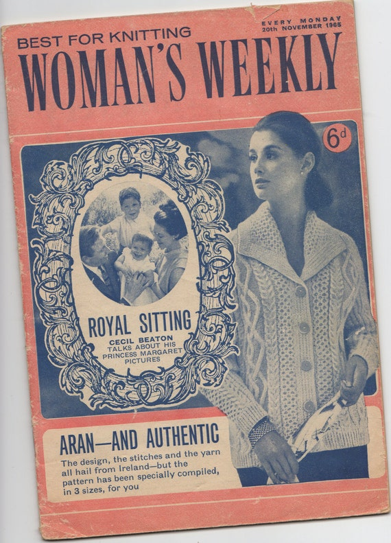 Woman s Weekly Knitting Patterns : Womans Weekly Knitting Patterns plus Extras by KeskaSaysMake