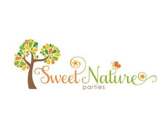 Custom Logo Design Premade Logo for Photographers - photography logo business logo graphic design boutique logo flower logo tree logo