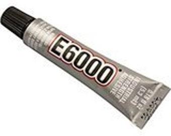 E6000 Jewelry & Bead Glue Adhesive - .18 oz - Mini Tube
