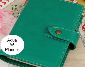 A5 aqua planner (look a like Malden)