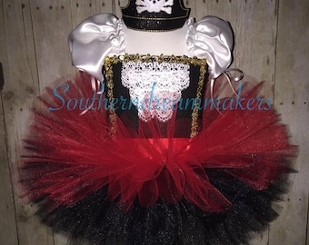 Pirate Tutu, Pirate Tutu Dress, Pirate Halloween Costume, Argh Matey Pirate Tutu