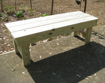 Heavy duty outdoor benches