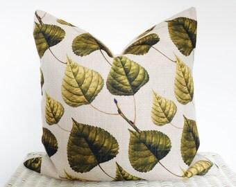 SALE Botanical cushion cover Botanical pillow cover 45x45cm