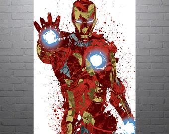 Civil War Iron Man Poster