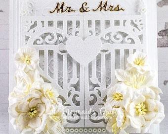 Handmade Mr. & Mrs. Wedding/Anniversary/Engagement Card