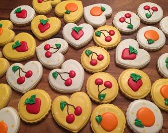 Fruit themed Sugar Cookies (12)
