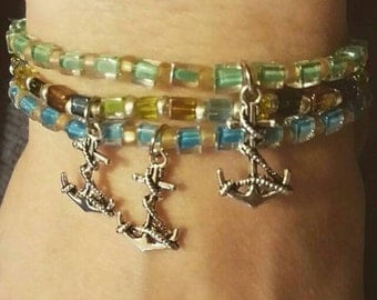 Hey Sailor stretch bracelet