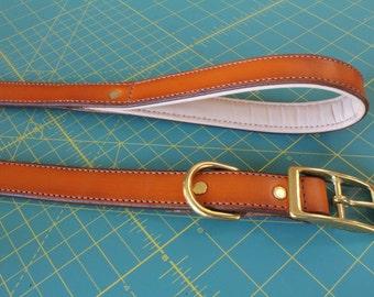 """19"""" Premium Leather Dog Collar"""