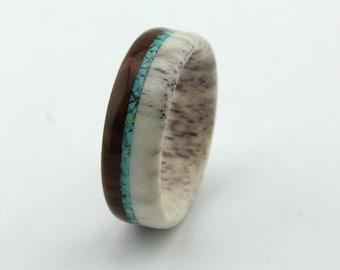 Deer Antler Ring/Antler Ring