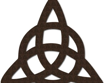 Triquetra Trinity Knot Metal Sign