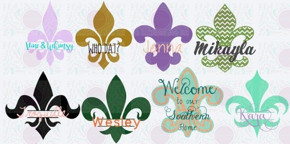 Christmas Quotes And Sayings Glitter Sticker Decal: Fleur De Lis Decals Stainless Tumbler Stickers By