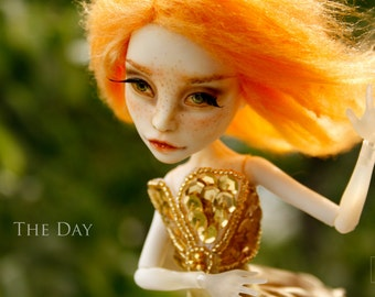 The Day - OOAK Monster High Repainted Art Doll
