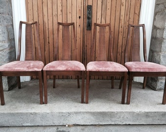 Mid Century Modern Dining Chairs set of 4 - Paine Furniture Co.