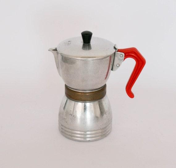 nora express vintage italian coffee maker coffee pot. Black Bedroom Furniture Sets. Home Design Ideas
